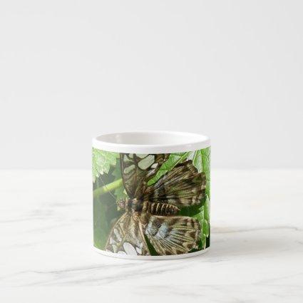 Butterfly on Leaf Specialty Mug Espresso Mugs