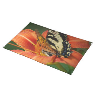 Butterfly on Lily Placemats