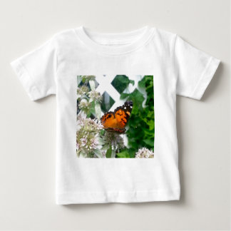 Butterfly on Mountain Mint Baby T-Shirt
