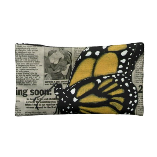Butterfly on My Cosmetic Bag