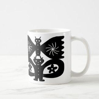 Butterfly On My Head Coffee Mug