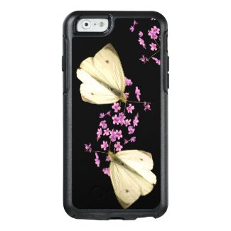 Butterfly on Pink Flower OtterBox iPhone 6/6s Case