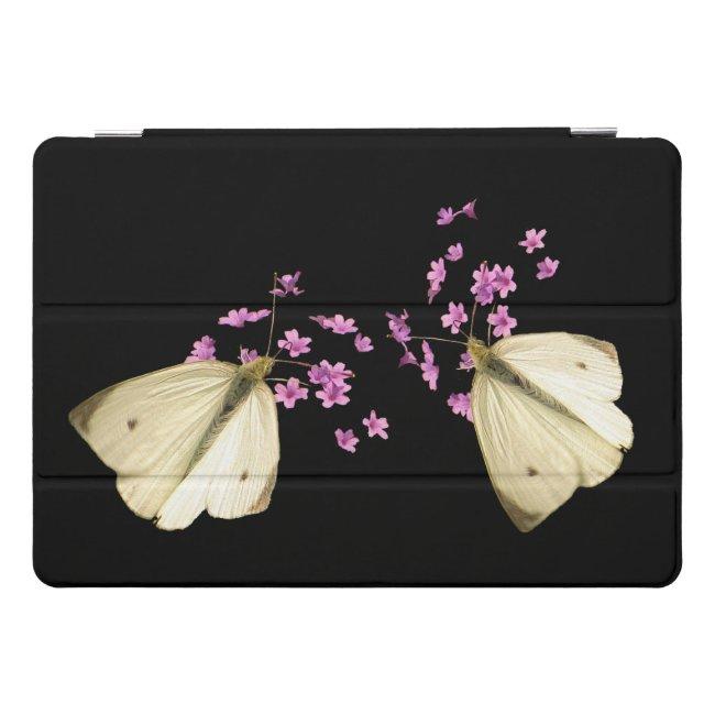 Butterfly on Pink Flowers 10.5 iPad Pro Case