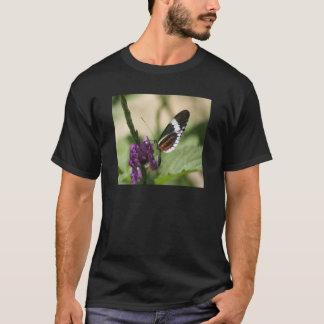 Butterfly on Purple Flower Adult T-shirt