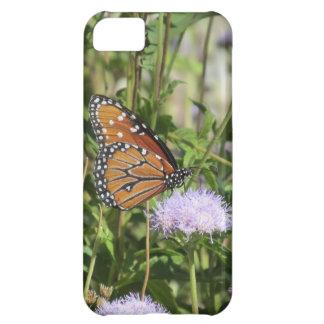 Butterfly on Purple Flower iPhone 5 Case