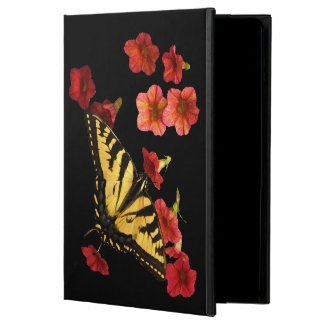 Butterfly on Red Flowers iPad Air 2 Case