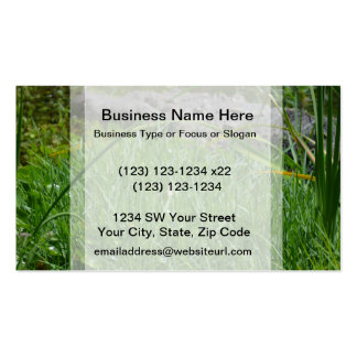butterfly on reed alligator background Double-Sided standard business cards (Pack of 100)