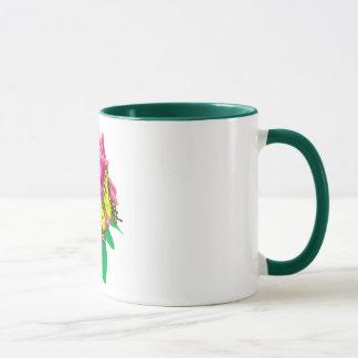 Butterfly on Rose 2 Mug