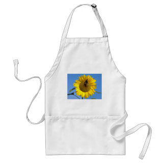 Butterfly on Sunflower Adult Apron