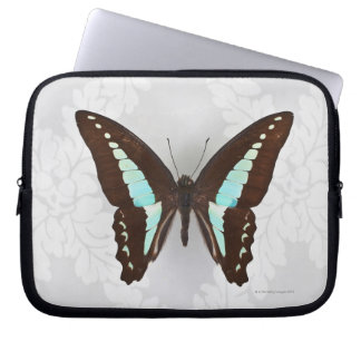 Butterfly on wallpaper background computer sleeve