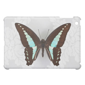 Butterfly on wallpaper background iPad mini cases