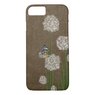 butterfly on wildflower iPhone 8/7 case