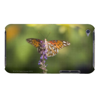 Butterfly on wildflowers iPod Case-Mate case