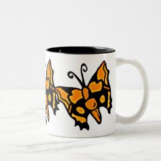 Butterfly - Orange | Mug Large