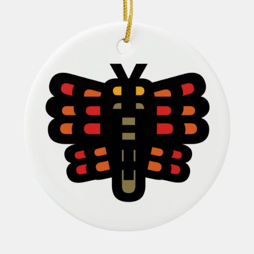 BUTTERFLY Ornament 1