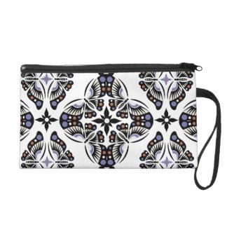 Butterfly Ornamental bag Wristlet Purses