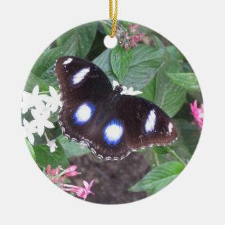 butterfly orniment ceramic ornament