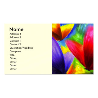 Butterfly Painting Art - Multi Double-Sided Standard Business Cards (Pack Of 100)