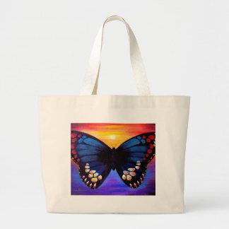 Butterfly Painting Art - Multi Jumbo Tote Bag
