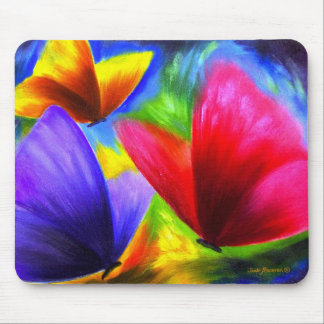 Butterfly Painting Art - Multi Mouse Mats