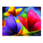 Butterfly Painting Art - Multi Postcards