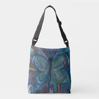 Butterfly Painting Crossbody Bag