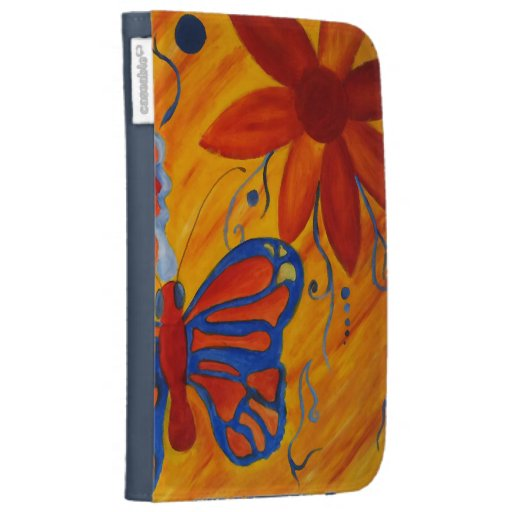Butterfly Painting Kindle Cover