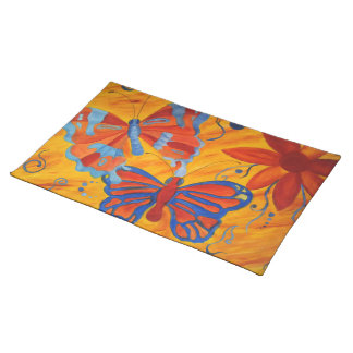 Butterfly Painting Placemat
