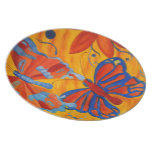 Butterfly Painting Plates