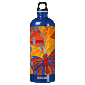 Butterfly Painting SIGG Traveler 1.0L Water Bottle