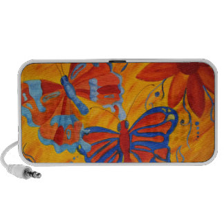 Butterfly Painting Speaker System