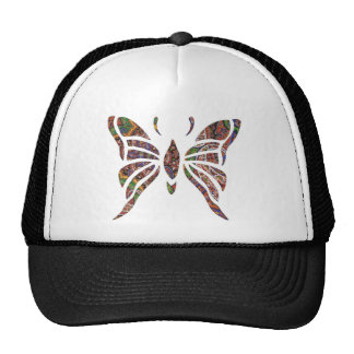 Butterfly Paisley Mesh Hat