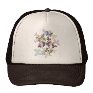 Butterfly Paisley Mesh Hats