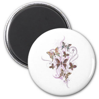 Butterfly Paisley Magnet