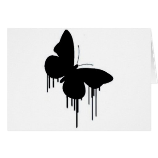 Butterfly pancakes card