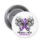 Butterfly Pancreatic Cancer Awareness Button