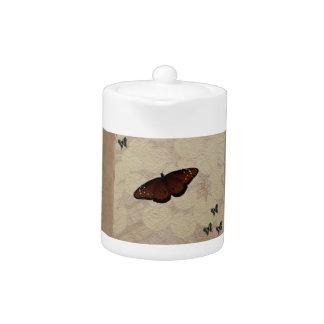 Butterfly Paper Teapot