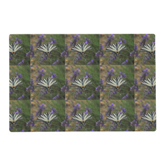 Butterfly - Papilio machaon on flowering lavender Placemat