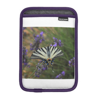 Butterfly - Papilio machaon on flowering lavender Sleeve For iPad Mini