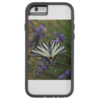 Butterfly - Papilio machaon on flowering lavender Tough Xtreme iPhone 6 Case