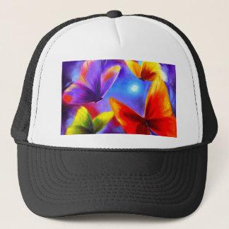 Butterfly Parade Painting Art - Multi Trucker Hat