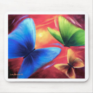 Butterfly Party Art Painting - Multi Mouse Pad