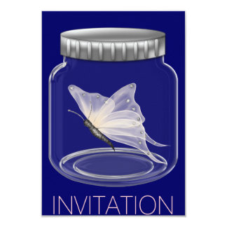 Butterfly Party Invitation