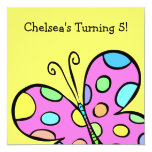 Butterfly Party Personalized Invitations