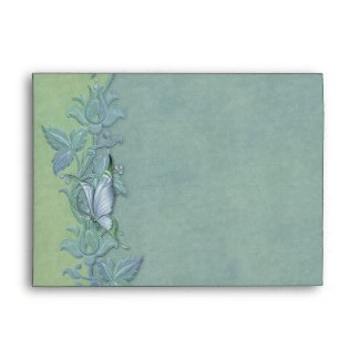 Butterfly Pastel Floral A7 Envelope