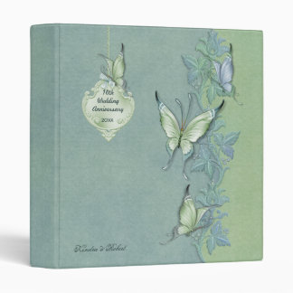 Butterfly Pastel Floral - Anniversary Binders
