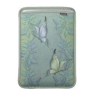 Butterfly Pastel Garden MacBook Air Sleeves