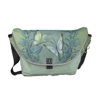 Butterfly Pastel Garden rickshaw_messengerbag