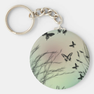 Butterfly Pastels Keychains