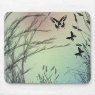 Butterfly Pastels Mousepads